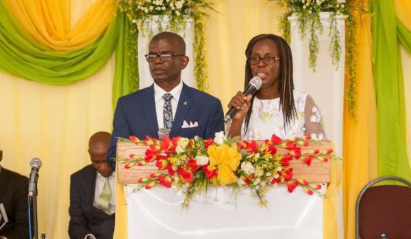 SLM President at celebration