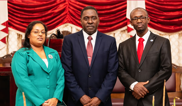 New Guyana Conference administrators