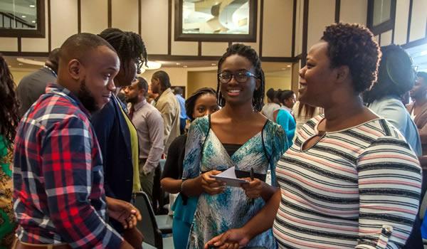 Participants at ASI Trinidad event