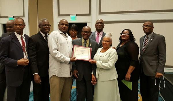 Longest Serving elder honored