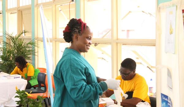 Health Expo on Nevis