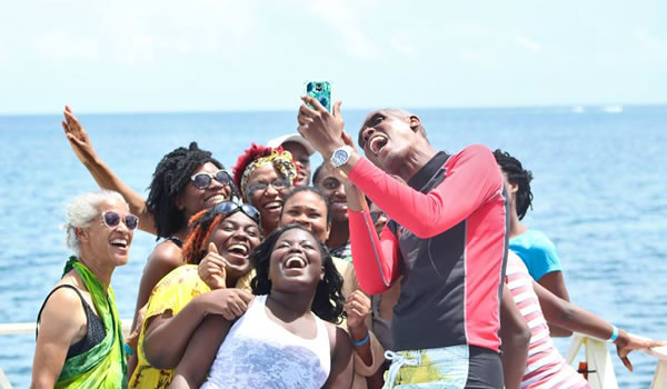 Pastor style selfie