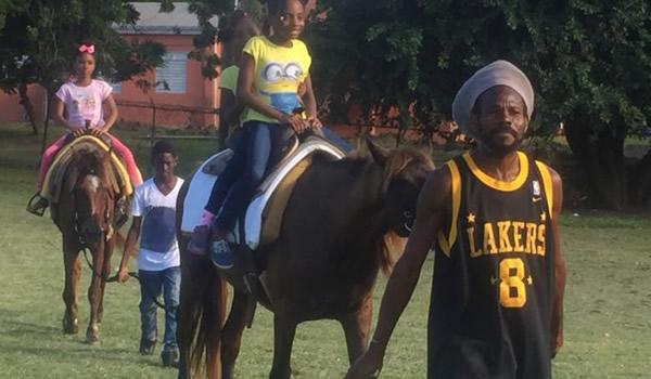 Horseback Riding at the Fun Day