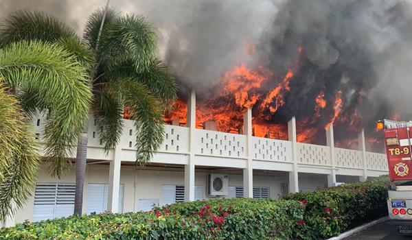 Peters rest church fire