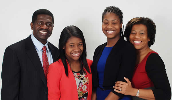 Dr. Colwick Wilson and Family
